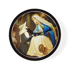 A Saint Catherine Laboure LorAnge Art 2 Wall Clock