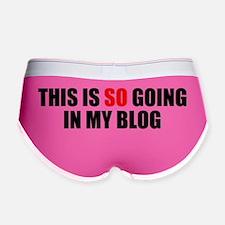in-my-blog Women's Boy Brief