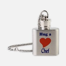 CHEF Flask Necklace
