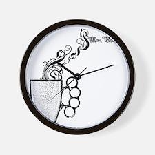 cafepress_coffeeknuck Wall Clock