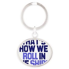 in-the-shire Oval Keychain