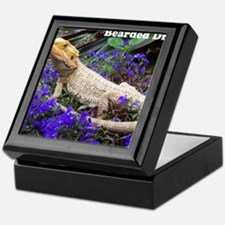 bearded dragon merch Keepsake Box
