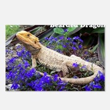 bearded dragon merch Postcards (Package of 8)