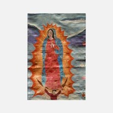 Our Lady of Guadalupe (Papyrus Ve Rectangle Magnet