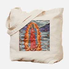 Our Lady of Guadalupe (Papyrus Ver.) Tote Bag