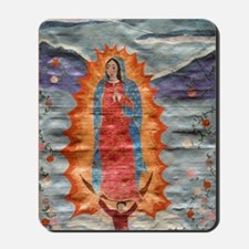 Our Lady of Guadalupe (Papyrus Ver.) Mousepad