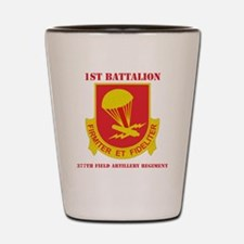 DUI-1-377 F A RGT  WITH TEXT Shot Glass