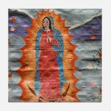 Guadalupe2Pillow Tile Coaster