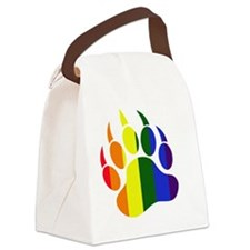 Bear Claw Only Canvas Lunch Bag