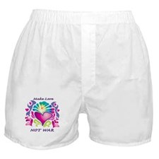 Make Love Not War Boxer Shorts