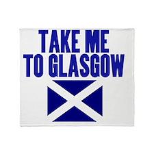take-me-to-glasgow Throw Blanket