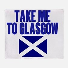 take-me-to-glasgow Throw Blanket