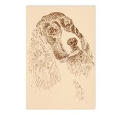 English_Springer_Spaniel_ Postcards (Package of 8)