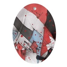 iphone case triumph 1a Oval Ornament