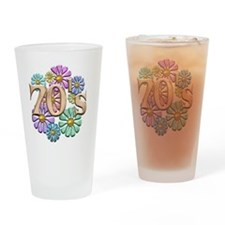 70s Drinking Glass