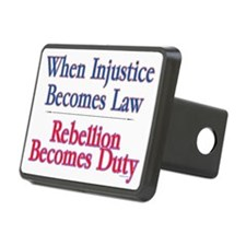 injustice Rectangular Hitch Cover