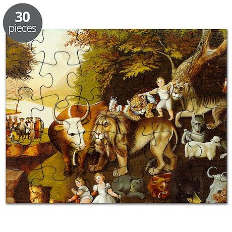 HicksPeaceableKingdom10x14 150 Puzzle