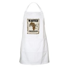Wanted Africas Freedom Apron