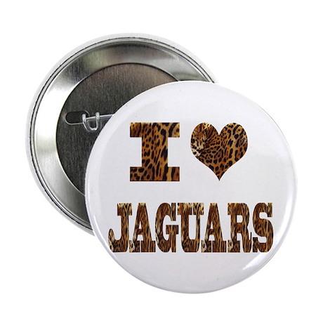"""i love jaguars 2.25"""" Button (10 pack)"""