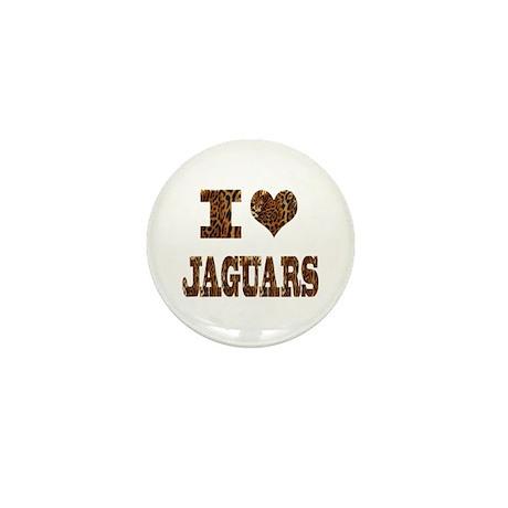 i love jaguars Mini Button (10 pack)