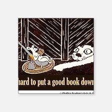 "Good book Shirt Square Sticker 3"" x 3"""