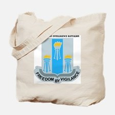 DUI- 502ND MIL INTEL BN WITH TEXT Tote Bag