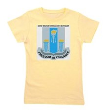 DUI- 502ND MIL INTEL BN WITH TEXT Girl's Tee