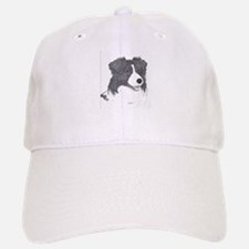 Border Collie face Baseball Baseball Baseball Cap