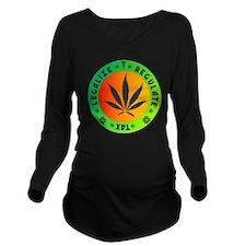 legalize regulate ta Long Sleeve Maternity T-Shirt