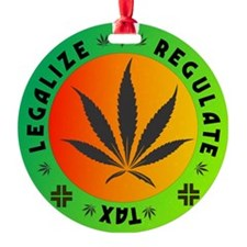 legalize regulate tax round Ornament