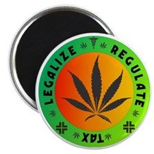 legalize regulate tax round Magnet