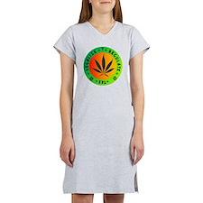 legalize regulate tax round Women's Nightshirt