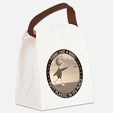 feb11_new_bird_sepia Canvas Lunch Bag