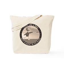 feb11_new_bird_sepia Tote Bag