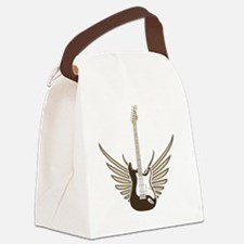 winged-strat copy Canvas Lunch Bag