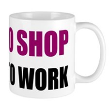 LP-born-to-shop Mug