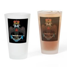 32degree eagle copy Drinking Glass