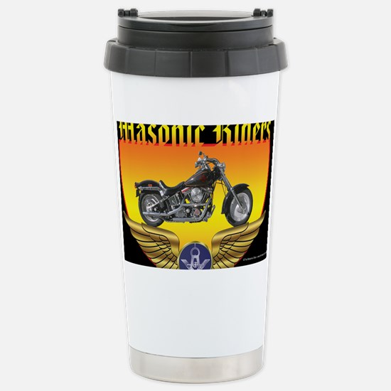 Masonic Riders license Stainless Steel Travel Mug