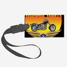 Masonic Riders license Luggage Tag