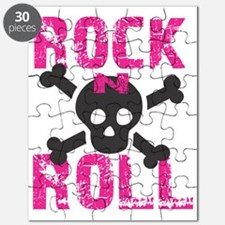 rock n roll skull Puzzle