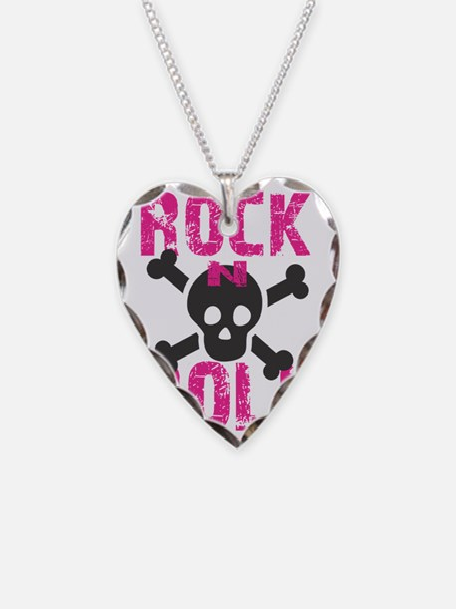 rock n roll skull Necklace
