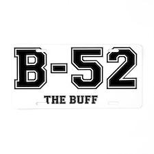 B52 - THE BUFF Aluminum License Plate