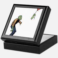 Poor zombie Keepsake Box