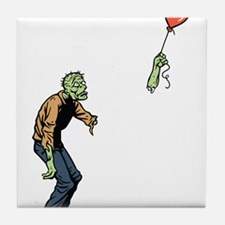 Poor zombie Tile Coaster