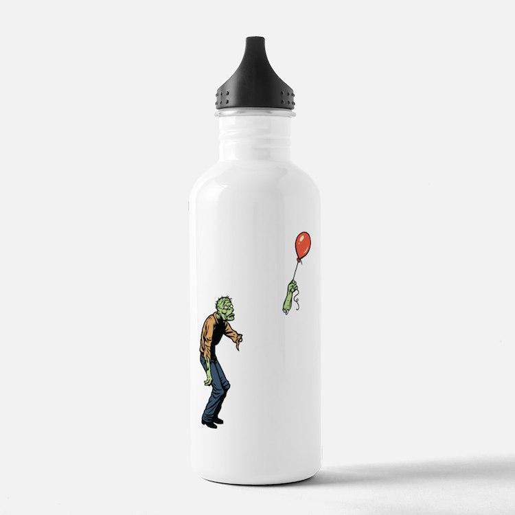 Poor zombie Water Bottle