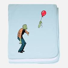Poor zombie baby blanket