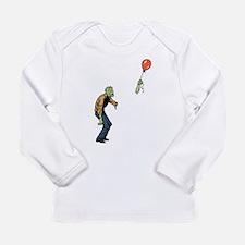 Poor zombie Long Sleeve T-Shirt