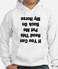 If you can read this...(black Hoodie