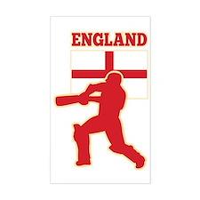 cricket sports batsman England Stickers