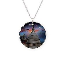 dc Necklace Circle Charm
